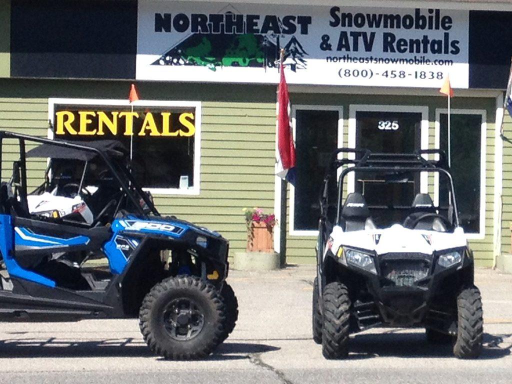 Northeast Snowmobile Atv Rentalsatv Side By Side Rentals Northeast Snowmobile Atv Rentals