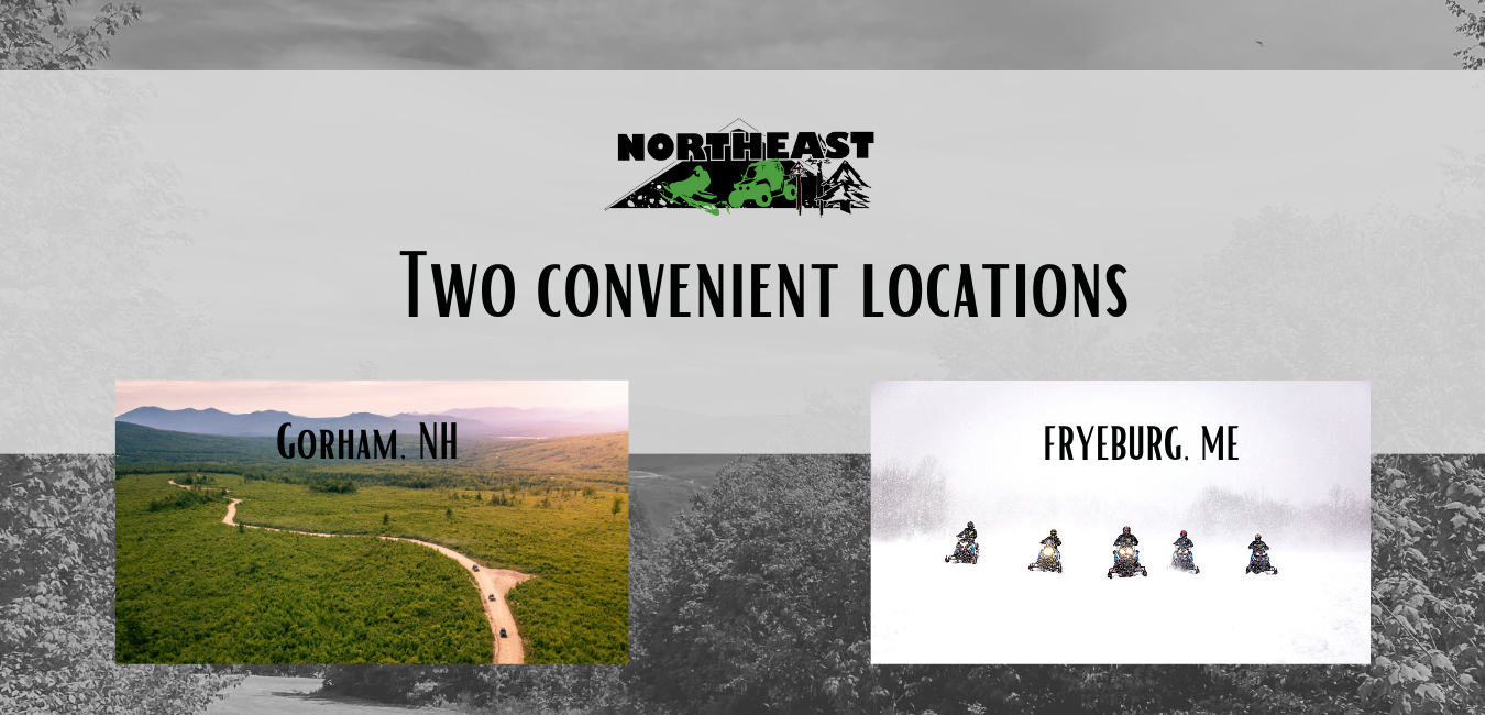 Northeast Snowmobile and ATV Locations